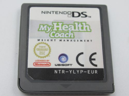 My Health Coach Manage Your Weight (Nintendo DS)